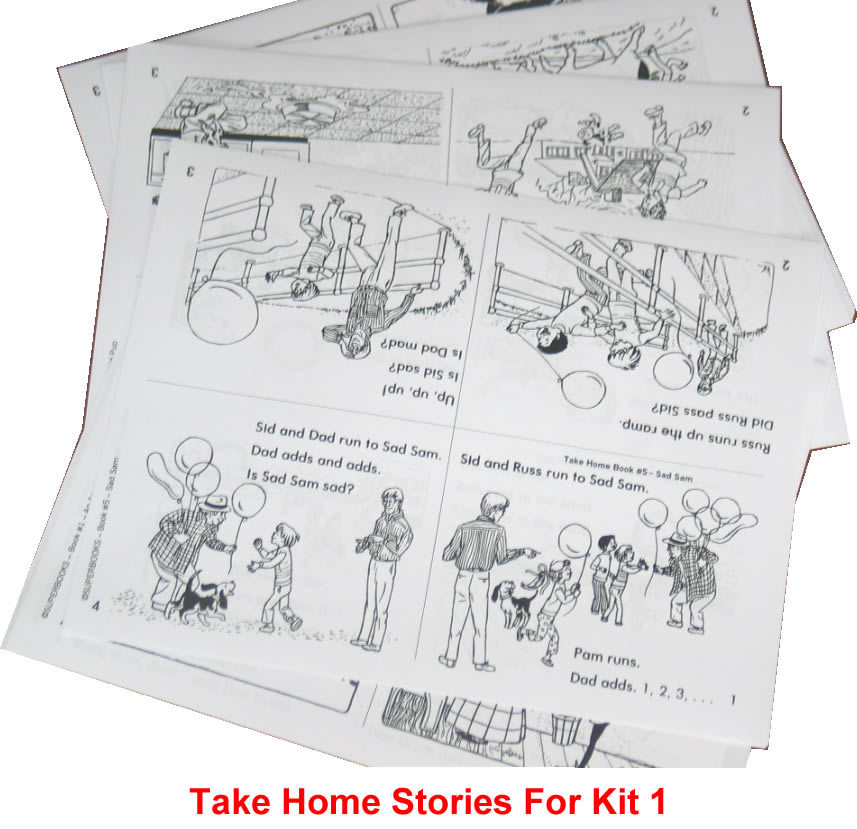 Take-Home Stories For Kit 1